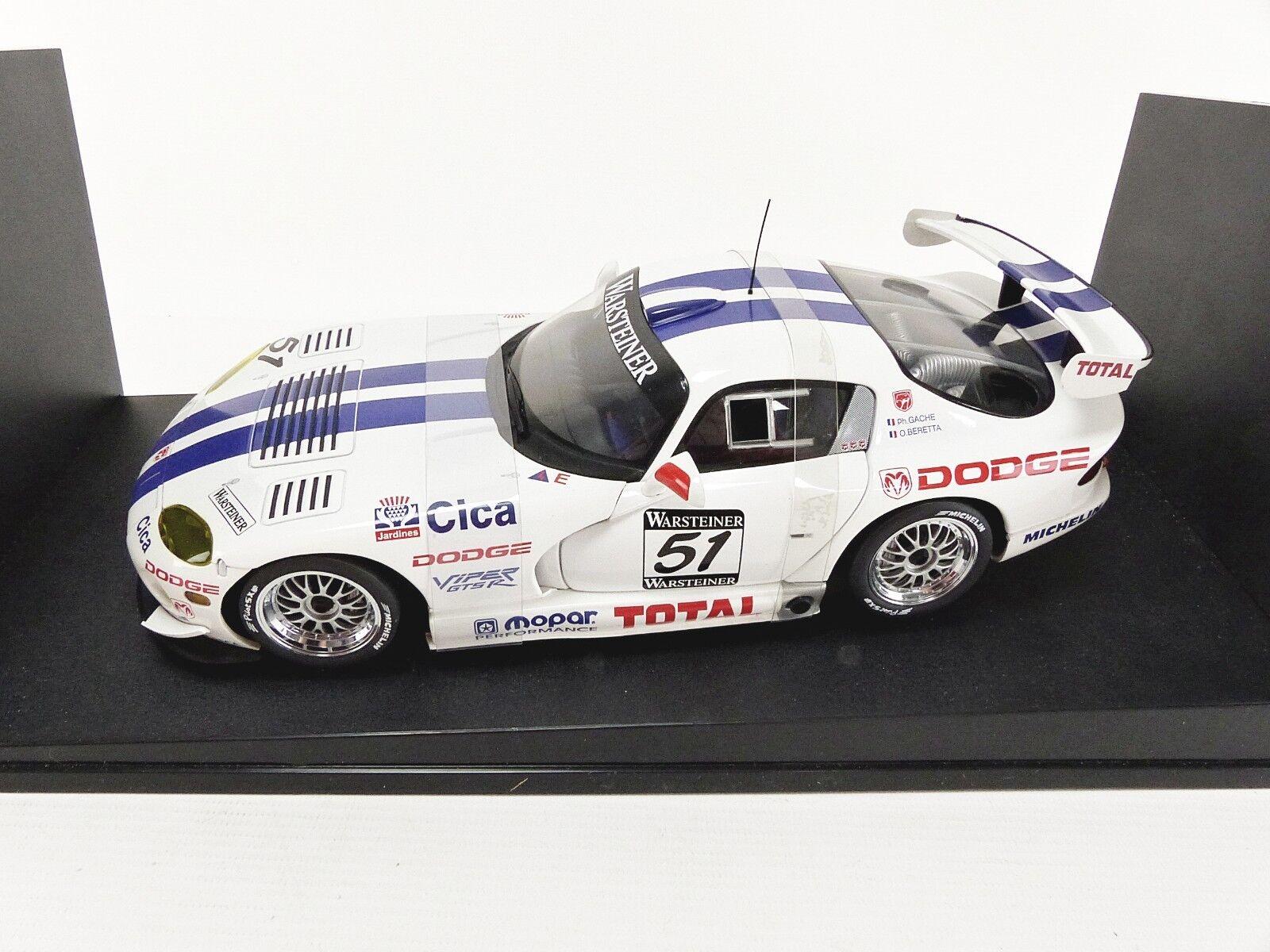 AUTOART 1 18 - DODGE VIPER GTS-R SEBRING 1997  51 - 89721
