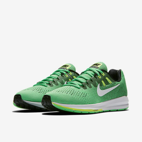 buy popular e05ff c3826 Nike Air Zoom Structure 20 Electro Green Ghost White MEN SIZE 7 RUNNING SHOE