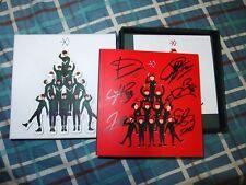 EXO-K  AUTOGRAPH ALBUM MIRACLES IN DECEMBER SEHUN KAI CHANYEOL BAEKHYUN SUHO D.O