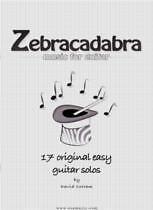 Instruction Books, Cds & Video Realistic Cottam Zebracadabra Easy Guitar Solos* Guitar