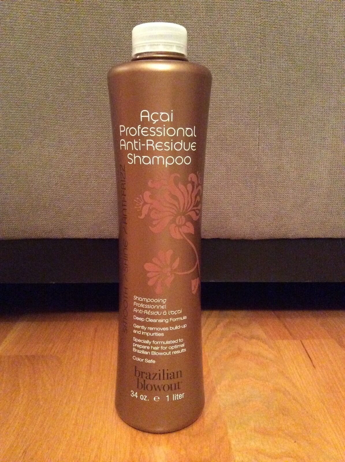 Brazilian Blowout Acai Professional Anti Residue Shampoo 34 Oz Ebay