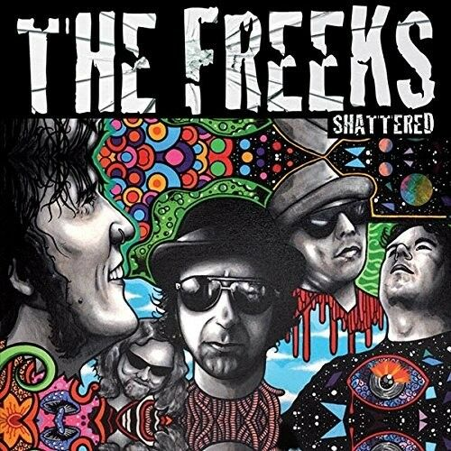 THE FREEKS - SHATTERED (LIMITED EDITION)   VINYL LP NEW!