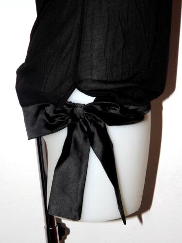 S Et Noir Doux Jersey Satin Strass Koralline Marque T Taille Modal L shirt fzpHxY