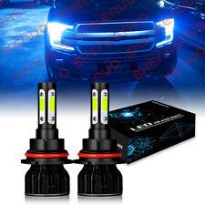 9007 Hb5 Led Headlight Bulbs Conversion Kit High Low Dual Beam 8000k Ice Blue Fits Plymouth Breeze