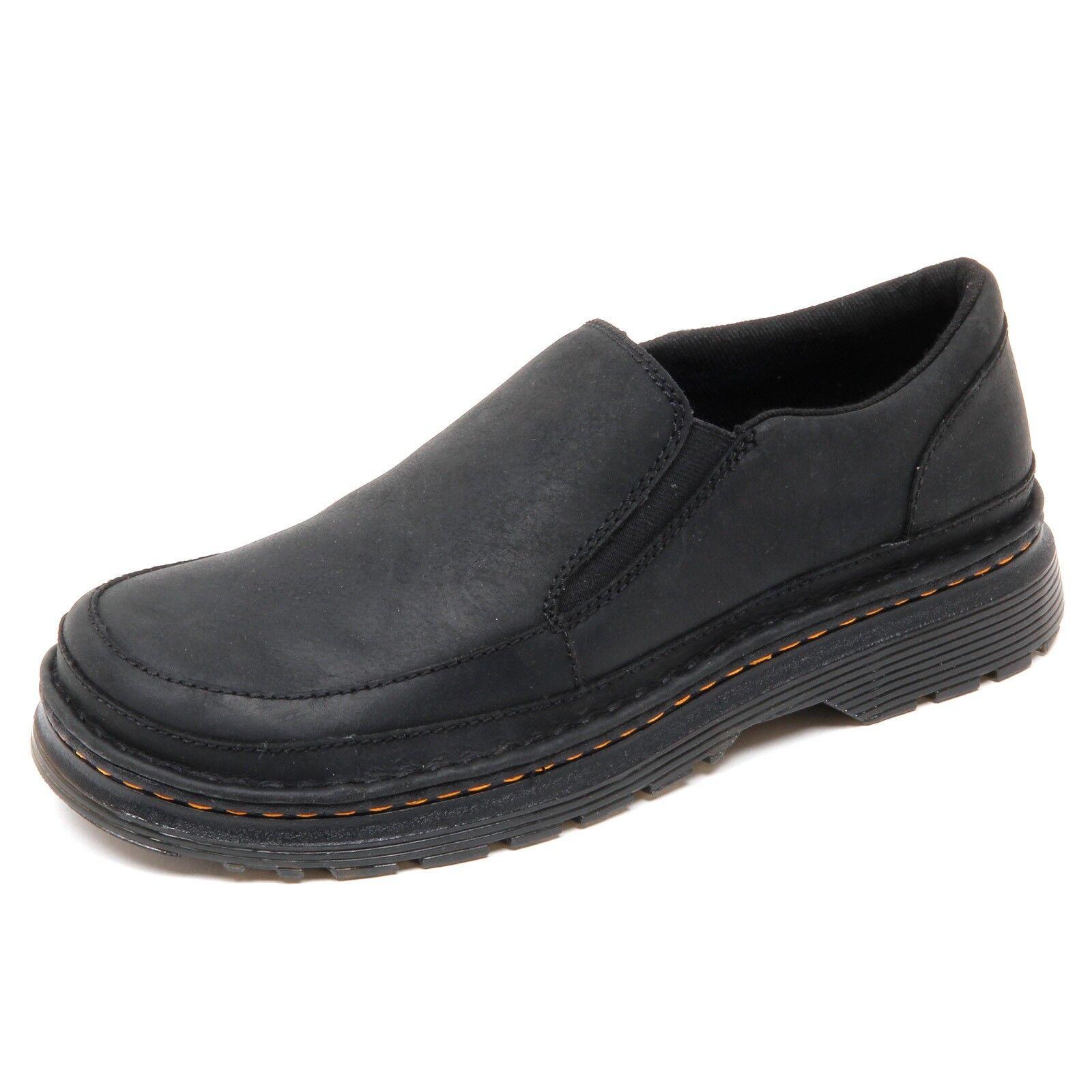 D3776 (without box) scarpa uomo DR. MARTENS nero vintage slip on shoe man