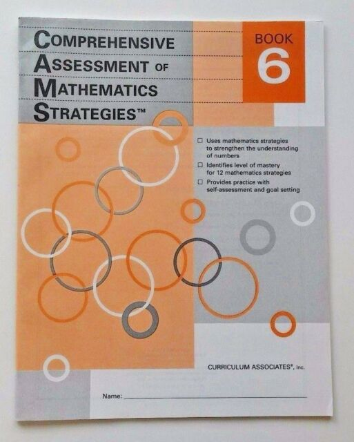 Book Comprehensive Assessment Of Math Strategies Skills Builder 6th