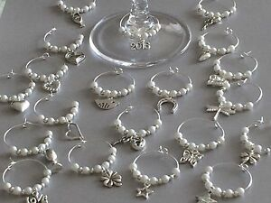 40-Wine-Glass-Charms-Wedding-Hens-Party-Favours-Choose-Pearl-Colour