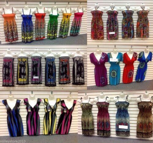 Lot 10 Pcs Wholesale Tops Shirts Bottoms Pants Dress Mixed Women Apparel S M L