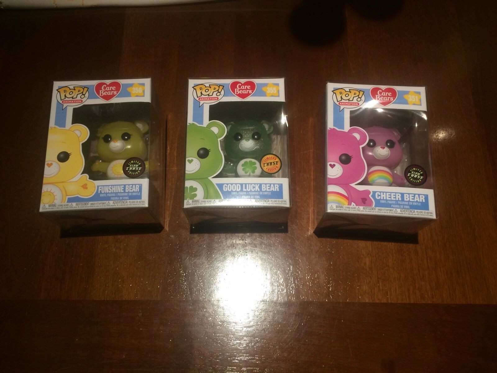 Funko  POP 3 Animation Cochee Bears Chase Serie Completa + Projoector