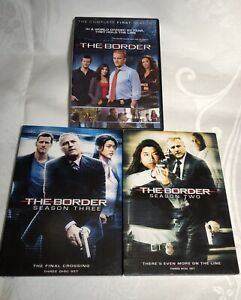 THE-BORDER-The-Complete-Series-Seasons-1-2-3-DVD-Sets-Pre-Owned