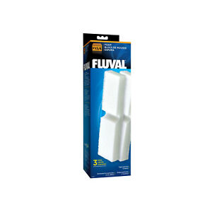 Mousse filtrante Fluval Fx5, paquet de 3 pour externe