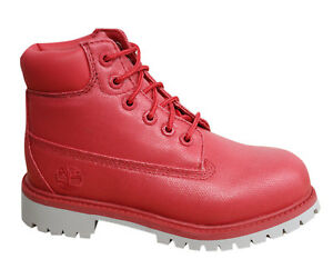 Timberland Wp Salmón D115 botas A1kfq para sintéticas impermeables Premium niños 6 pulgadas rtwqr1