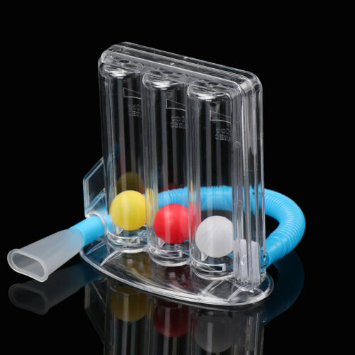 Three balls Breathing Trainer Incentive Spirometer Lung Exercisers