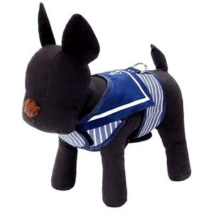 UK-Navy-Blue-Cute-Costume-Lead-Clothing-Apparel-Party-Outfit-for-Small-Dogs-Pets