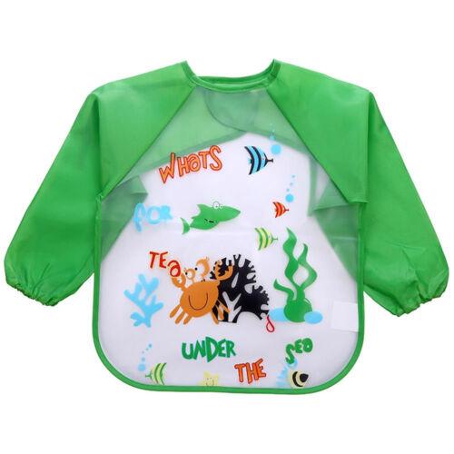 New Baby Waterproof Bibs EVA Saliva Towel Cartoon Bib Feeding Bandana