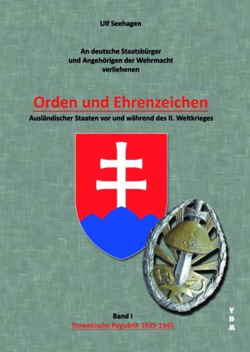 Seehagen Orden et honneur caractères République Slovaque 1939-1945 Wehrmacht