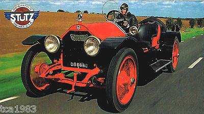 1915 GroßE Vielfalt 1913,1914 Streng Stutz Bearcat Spezial Folie Broschüre/katalog