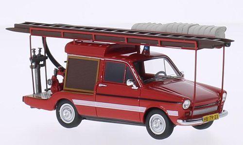 Wonderful AUTOCULT-modelcar DAF 33  BRANDWEER    (NL) 1974 - red - 1 43 - ltd.ed. 68ac49