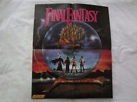 Final Fantasy (nes) Nintendo Power Promo Poster / Code Name Viper Map 1990 Rare