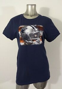 Dallas-Cowboys-NFL-Football-women-039-s-t-shirt-blue-L-new