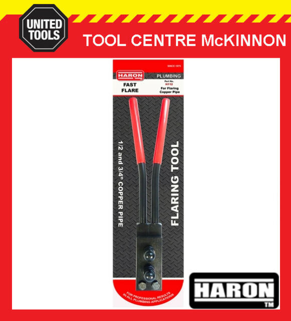 """HARON H112 FAST FLARE ½"""" & ¾"""" COPPER PIPE / TUBE FLARING TOOL"""