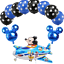 New-Disney-Mickey-Mouse-Birthday-Foil-Latex-Balloons-Plane-Party-Decorations-Boy thumbnail 7