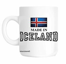 Made Born In Iceland Birthday Gift Mug shan548
