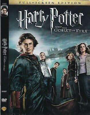 Harry Potter And The Goblet Of Fire Dvd Full Screen Emma Watson 12569593879 Ebay