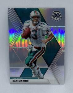 2020 NFL Mosaic Dan Marino HOF Silver Prizm REFTACTOR  #123 Miami Dolphins