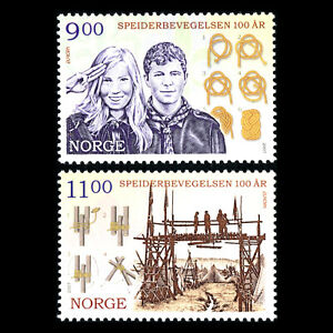 Norway-2007-EUROPA-Stamps-The-100th-Anniversary-of-Scouting-Sc-1515-6-MNH