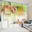 3D Flowers 537 Blockout Photo Curtain Printing Curtains Drapes Fabric Window AU