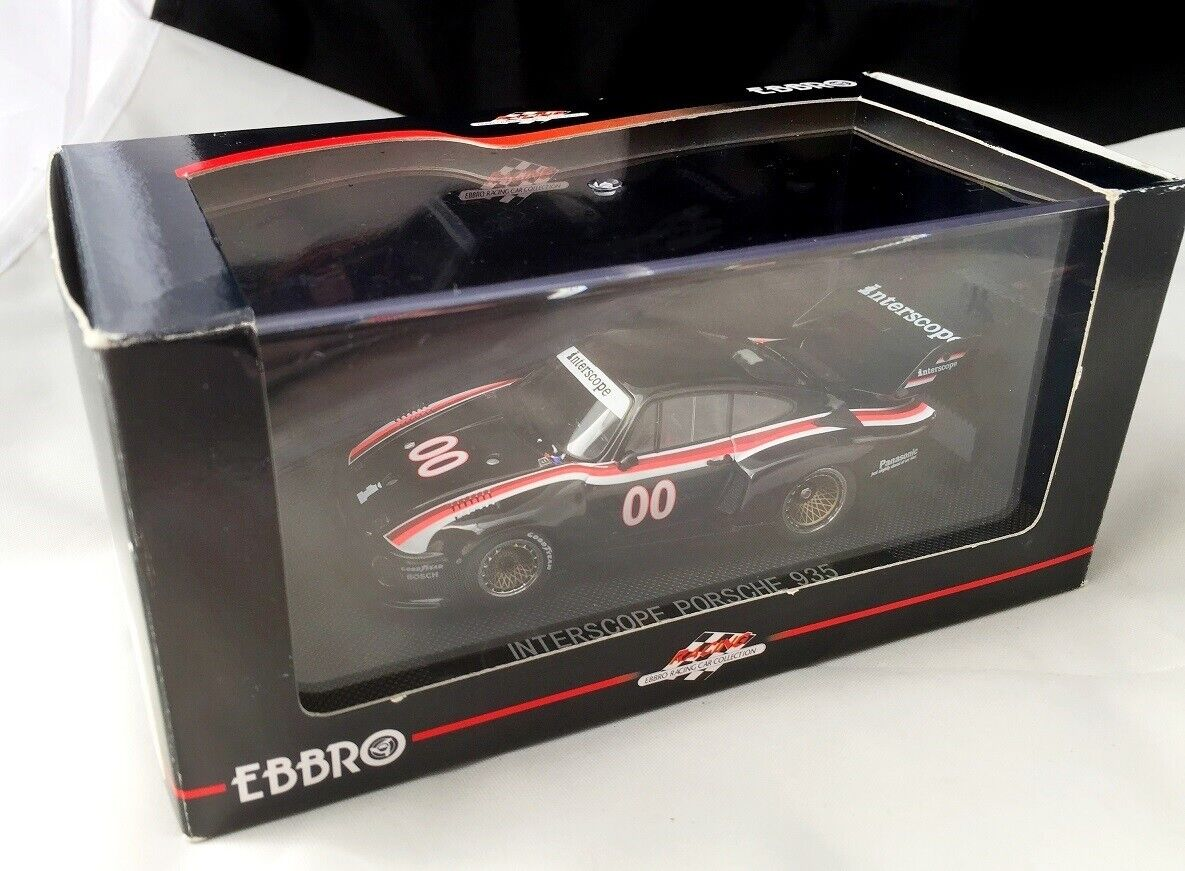 EBBRO PORSCHE PORSCHE 935 INTERSCOPE RACING DAYTONA 1977  N.00 1 43 SCALE NEW n BBR AMR
