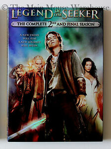 Legend-of-the-Seeker-Complete-Second-Season-Mythology-Fantasy-T-V-Series-on-DVD