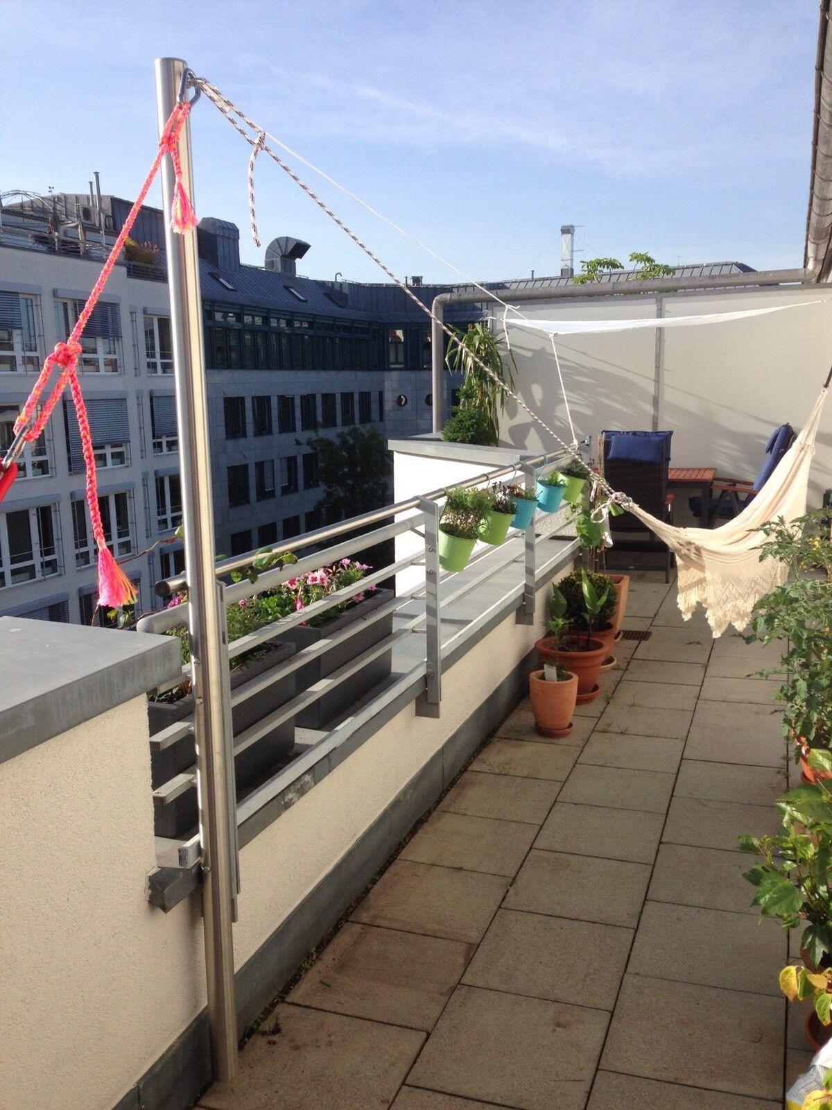 Hängemattengestell Mast Edelstahl Edelstahl Edelstahl Mast 42 mm  150 cm | Verkauf  | Erste in seiner Klasse  66a81b
