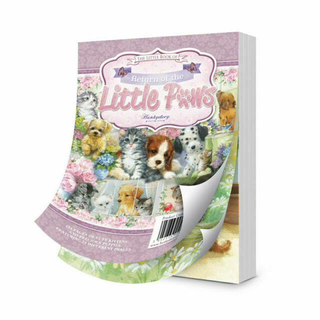 Hunkydory ~ A6 toppers  ~ **24 sample pages** ~ Return of the Little Paws