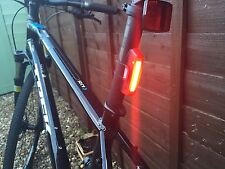 Top Quality Bicycle Cycling Bike Rear Tail light Rechargeable 6 modes COB LED