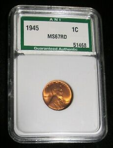 1945-P-LINCOLN-CENT-WHEAT-BACK-PENNY-HIGH-GRADE-UNCIRCULATED-MS-RED-GEM