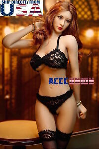 PHICEN 1//6 American Beauty Seamless Figure Doll Set with Lingeries U.S.A SELLER