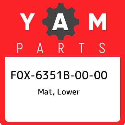 F0x 6351b 00 00 Yamaha Mat Lower F0x6351b0000 New Genuine Oem Part Ebay