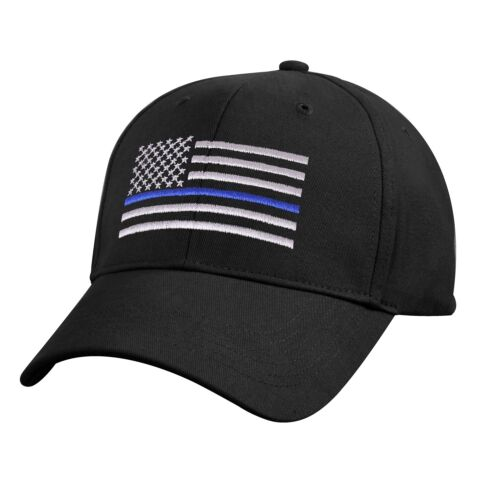 KIDS Thin Blue Line Baseball Cap Law Enforcement Police Support 7692