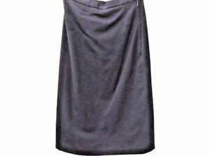 Burberrys-039-Vintage-Women-Straight-Skirt-Size-28-034-Waist-Navy-Grade-A-LJ756