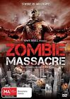 Zombie Massacre (DVD, 2014)