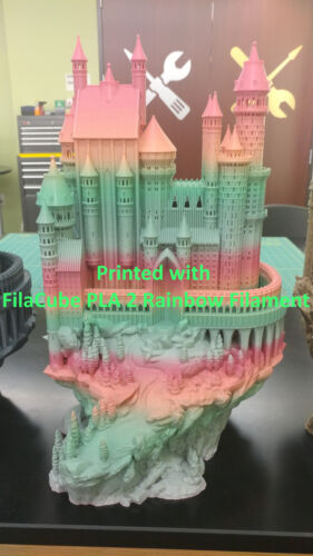 PLA 1.75mm 18 Colors FilaCube PLA 2 3D Printer filament 1kg 2kg 3kg spool PLA+
