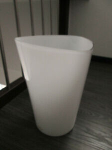 Ikea Vase Blumenvase Vasen Bodenvase Glas Elen Johansson Weiß Groß