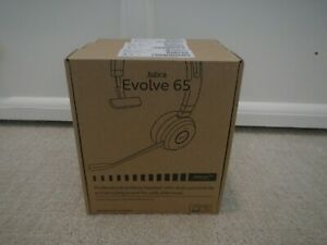 Jabra Evolve 65 Ms Mono Wireless Headset W Link 370 Usb Dongle Hsc018w Ebay