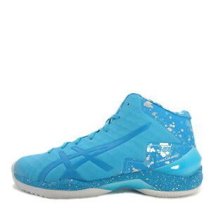 Athletic Shoes Asics Gel-burst 21 Ge Hi Aqua Island Blue Men Basketball Shoes Tbf30g-3941 Men's Shoes
