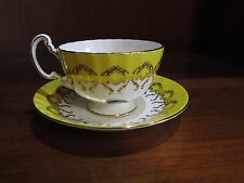 Footed Tea Cup & Saucer Marked Aynsley