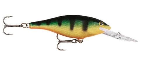 NIB Rapala Shad Rap SR05BCF//G//HSD//BOSD//P Trout Pike Bass Salmon Muskie Sea Lures