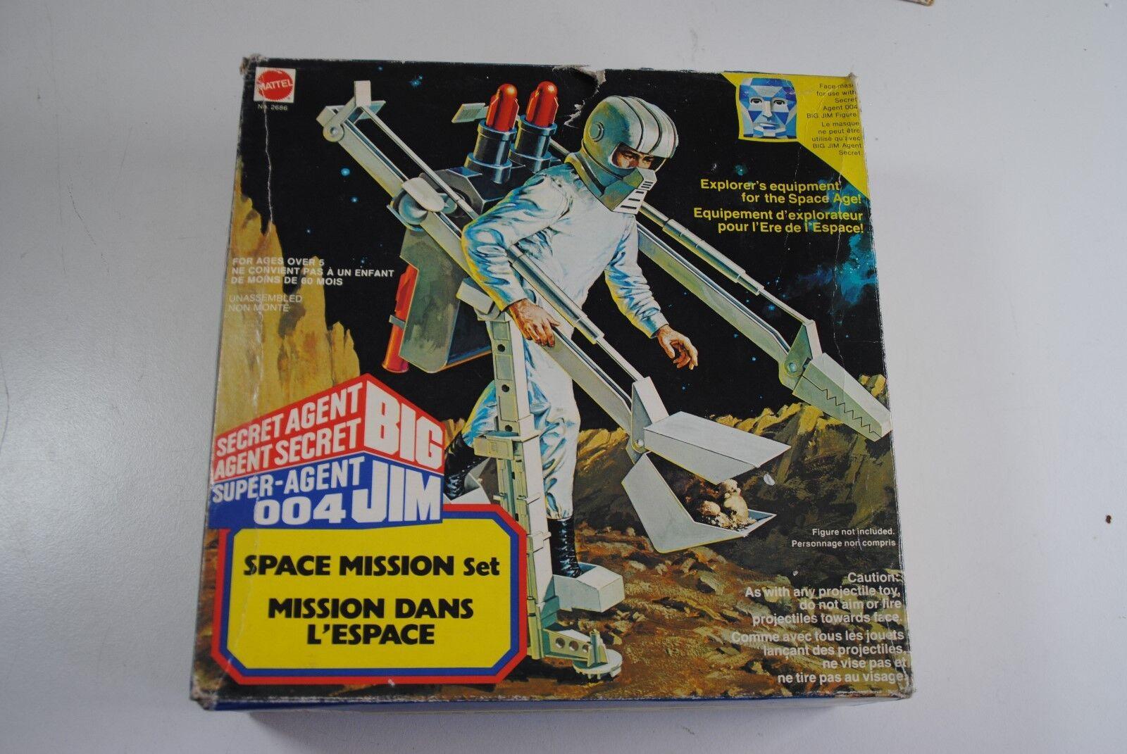 Big jim mattel 004  space mission  selten raum wurde stillgelegt