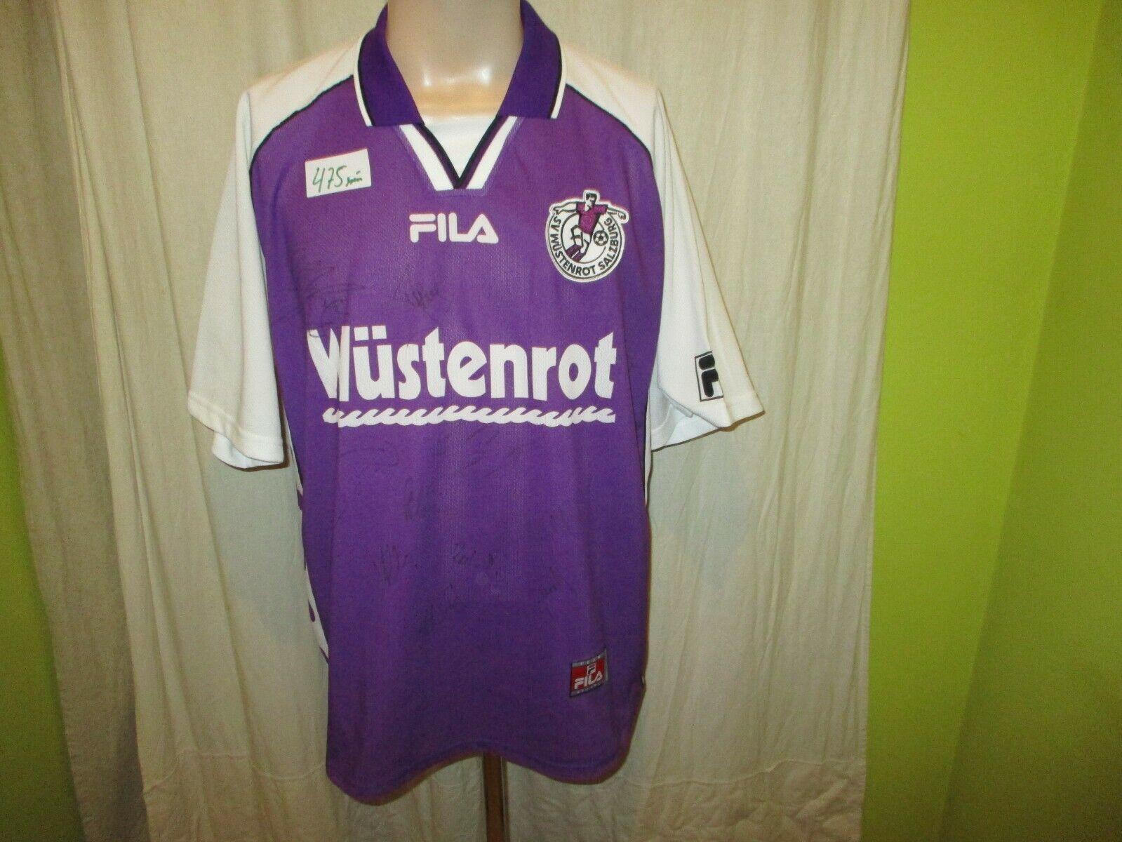SV Wüstenrot Salzburg Fila Trikot 2000 01  Wüstenrot  + Signiert Gr.L TOP